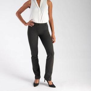 Betabrand Dress Pant Yoga Pants Charcoal Gray